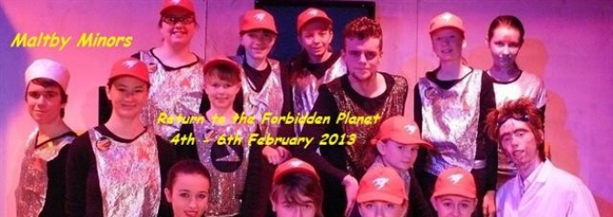 Return To The Forbidden Planet - Maltby Minors
